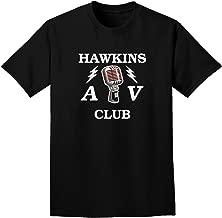TooLoud Hawkins AV Club Adult Dark T-Shirt