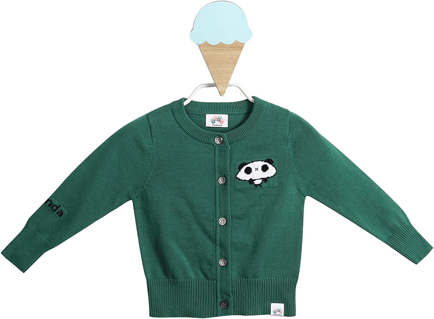 Dada And Mesa Mall Mama Baby and Kids famous Cardigan Down Button Crew Knit Neck