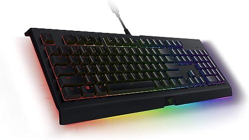 Razer Cynosa Chroma Pro Gaming Keyboard: Customizable Chroma RGB Lighting W/Underglow - Individuallly Backlit Keys - ...