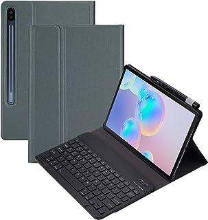 Samsung Galaxy Tab S6 10.5(SM-T860 / T865 / T867)用キーボードケース、Galaxy Tab 10.5インチ用磁気取り外し可能ワイヤレスBluetoothキーボードUSレイアウト、Smart PUカ...