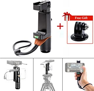 Selfie Handheld Stand Smartphone Holder Vlog, Sevenoak SK-PSC1 SmartGrip Filmmake Grip with Handle & Mounting Shoe & Hand Strap String for iPhone X 8 7 7 Samsung Galaxy S4 Note YouTube Video Live