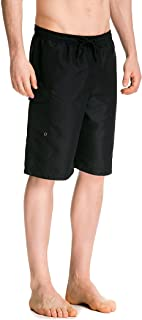Trailside Supply Co. Men's Swim Trunks Quick Dry Board...
