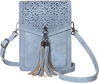 MINICAT Fringe Thicher Pocket Small Crossbody Cell Phone Purse Wallet For  Women With Credit Card Slots 520457b7b64c0
