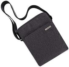 """TINYAT Fashion Men`s Crossbody Shoulder Bag Messenger Bag Fits 10.1"""" iPad and Tablets T550 (Grey)"""