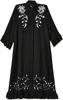 Nukhbaa Women's Waist Tie Abaya Abaya