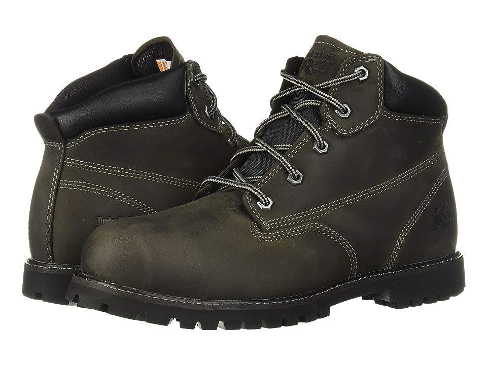 Timberland PRO Gritstone 6 Steel Safety Toe (Black Leather) Men