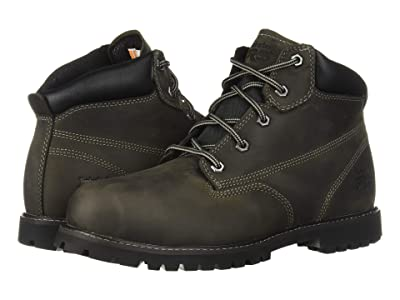 Timberland PRO Gritstone 6 Steel Safety Toe (Black Leather) Men