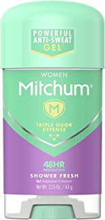 Mitchum Women Gel Antiperspirant Deodorant, Shower Fresh, 2.25oz.