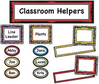 Carson Dellosa Colorful Chalkboard Classroom Management (110302)