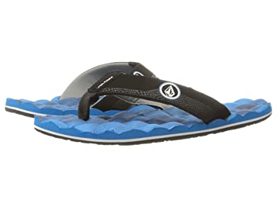 Volcom Kids Recliner (Little Kid/Big Kid) (Marina Blue) Boys Shoes