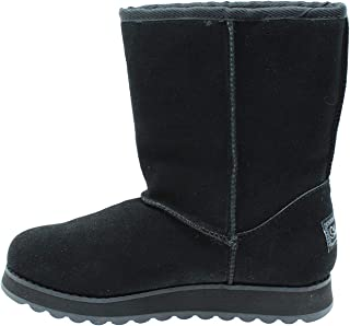 Skechers Womens Keepsakes 2.0-Mid Boot with Strap Wrap Fashion