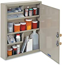 STEELMASTER Large Medical Security Cabinet, Dual Locks, Sand (2019065D03)