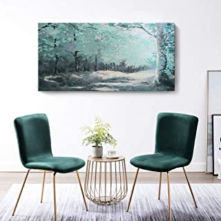 painted tree wall art