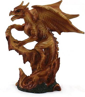 Aquatic Fantasy Collection Woodlike Dragon