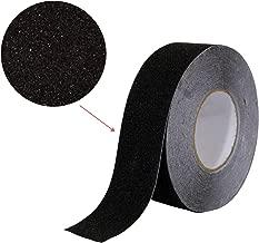 Houseables Anti Slip Tape, Grip Tapes, Black, 80 Grit, 60' x 2