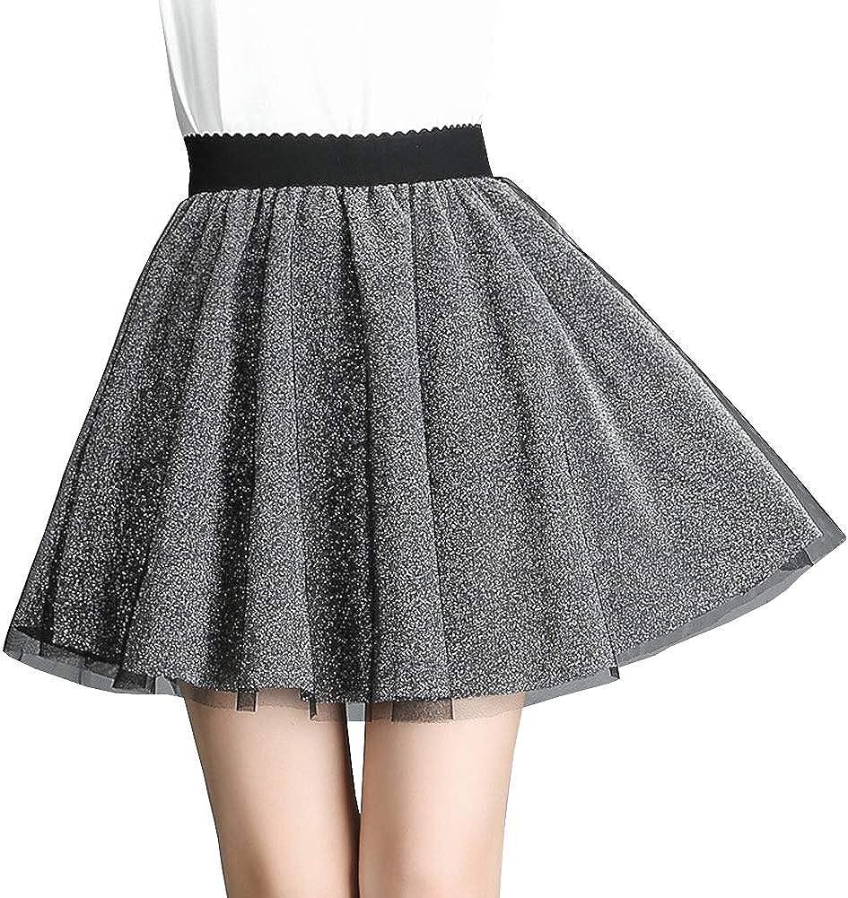 DISSA DA1730 Women Pleated Mini A-Line Skirt