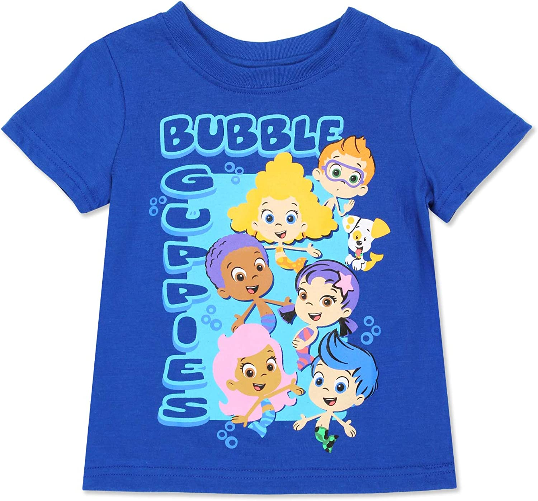 Bubble Guppies Toddler Boys Short Sleeve Tee
