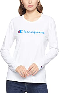 Champion Women's Script Long Sleeve Tee
