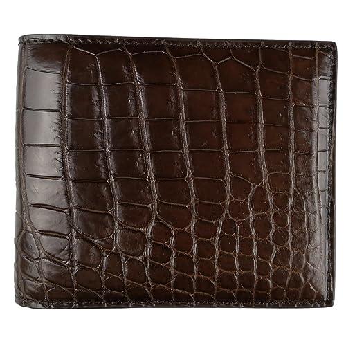 d0bbf6f78 CHERRY CHICK Men's Genuine Crocodile Skin Wallet (Handmade Men Graduation  Gift, Husband Anniversary,