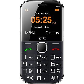 Telefono Movil ZTC SP54 Senior Phone Black: Amazon.es: Electrónica