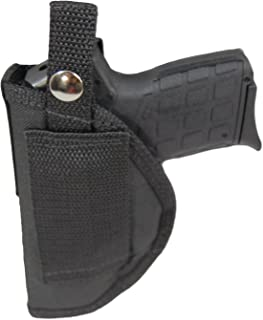 Barsony New Belt Loop OWB Holster for .380 and Ultra Compact 9mm 40 45