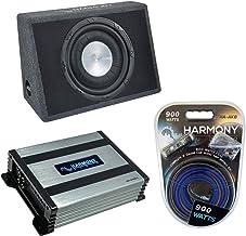 $169 » Harmony Audio HA-FT12 Car Stereo Flatline Loaded 12 Truck 800W Sub Box Bundle with HA-A400.1 Amplifier & Amp Kit