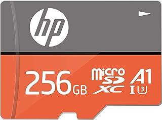 【Amazon.co.jp 限定】HP microSDXCカード 256GB オレンジ A1 UHS-I(U3) 4K Ultra HD対応 最大読出速度100MB/s 1年間保証 HFUD256-1V31A