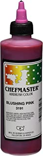 Chefmaster Airbrush Spray Food Color, 9-Ounce, Blushing Pink