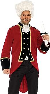 Leg Avenue Regency British Red Coat Pirate Couples Costume