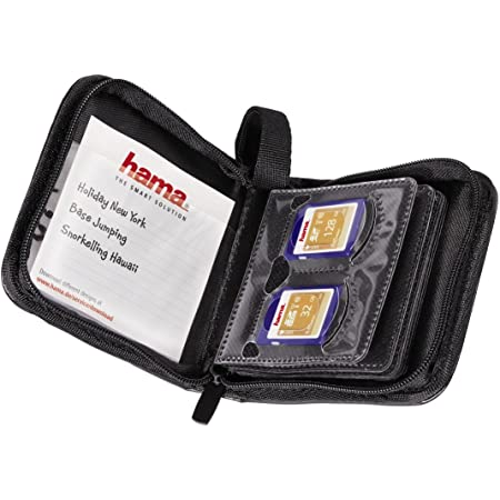 Hama Memory Card Wallet 12 Sd Schwarz Computer Zubehör