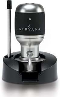 Aervana Original: Electric Wine Aerator and Pourer / Dispenser - Air Decanter - Personal Wine Tap for Red and White Wine 7...