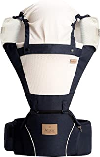 Bebamour Soft Style Designer Baby Carrier and Baby Sling Carrier 2 in 1 (Dark Blue)