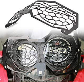 Newsmarts Motorcycle Headlight Protector Guard Headlamp Grille Cover for Honda CRF250 Rally 2017-2018