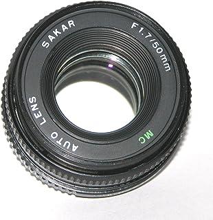 Sakar Auto 50mm f/1.7 MC Manual Focus Lens - P-K Mount Film Camera