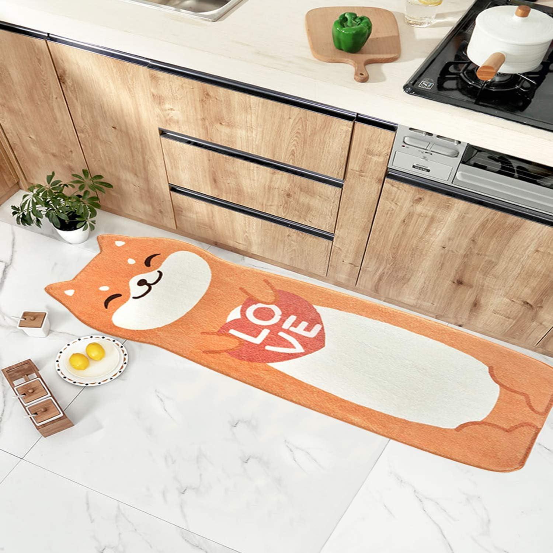 Non-Slip Runner Rug 限定モデル for Kitchen Bedroom Machine 直営ストア Laundry Wa Floor