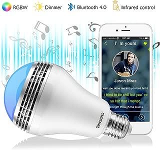 Texsens Smart LED Bulb-Light Flashes as as Music Goes Medium-Remote