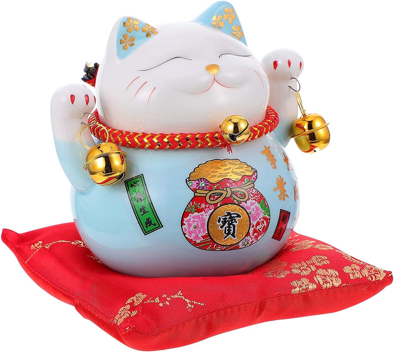 BESPORTBLE Maneki Neko Money SALENEW very popular! Lucky Mouse Figurine Bank Cat Safety and trust Coin