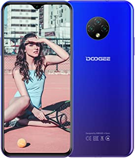 DOOGEE X95 (2020), Android 10, 4G smartphone zonder abonnement, goedkoop, Dual SIM mobiele telefoon, 6,52 inch waterdruppe...