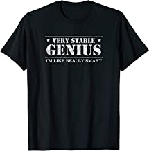 Vintage Very Stable Genius I'm Like Really Smart T-Shirt
