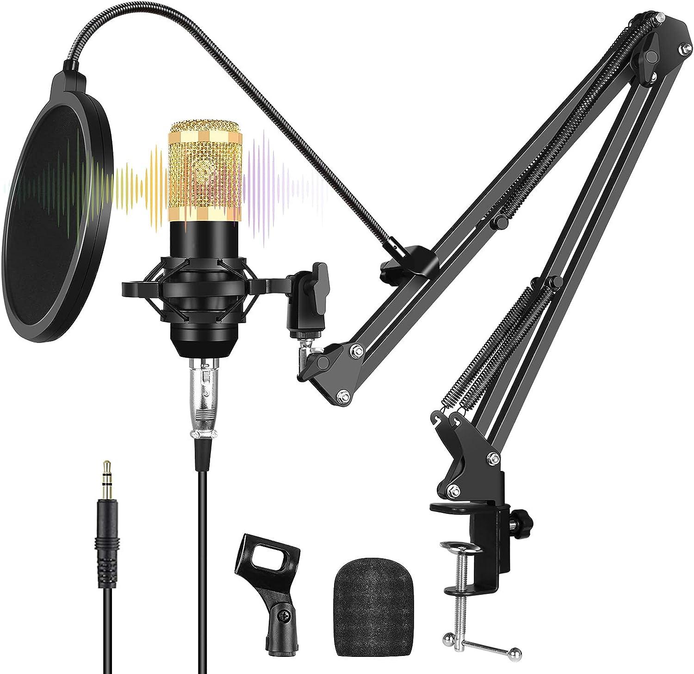 XIMULIZI Tucson Mall USB Microphone Kit Rec Professional Broadcasting NEW before selling ☆ Studio