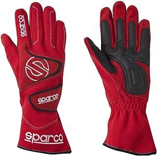 Sparco 0025610NR Tide K-9H Black Size-10 Karting Gloves