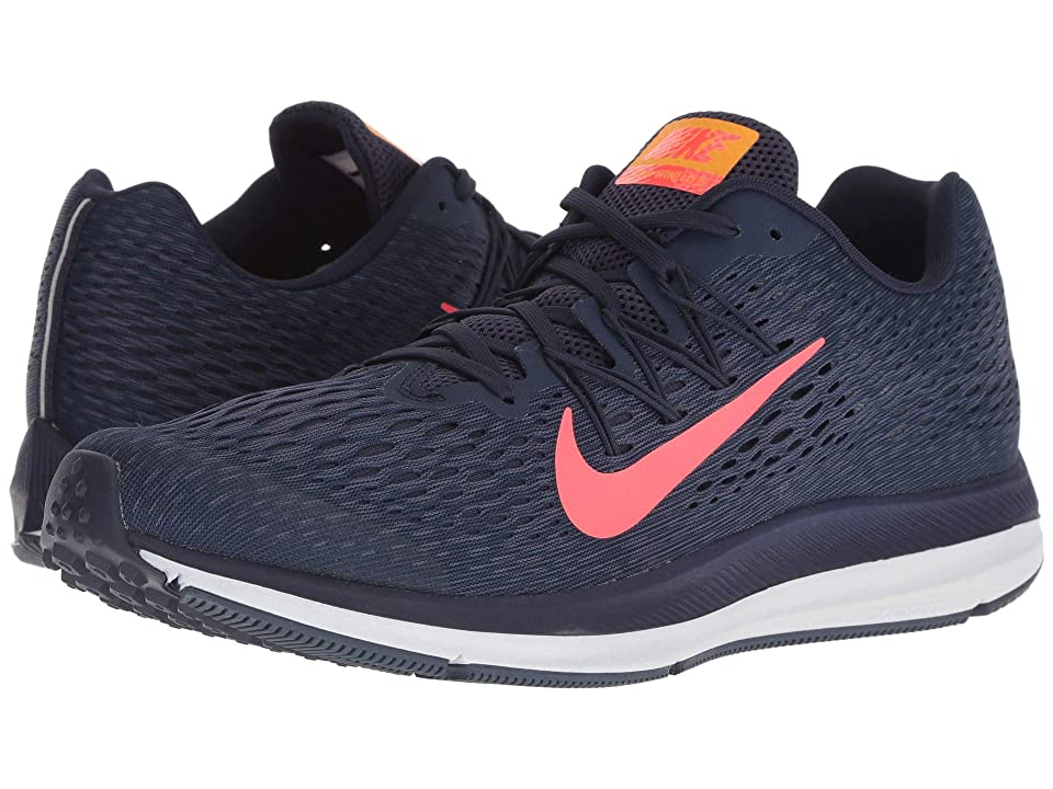 Nike Air Zoom Winflo 5 (Blackened Blue/Flash Crimson) Men