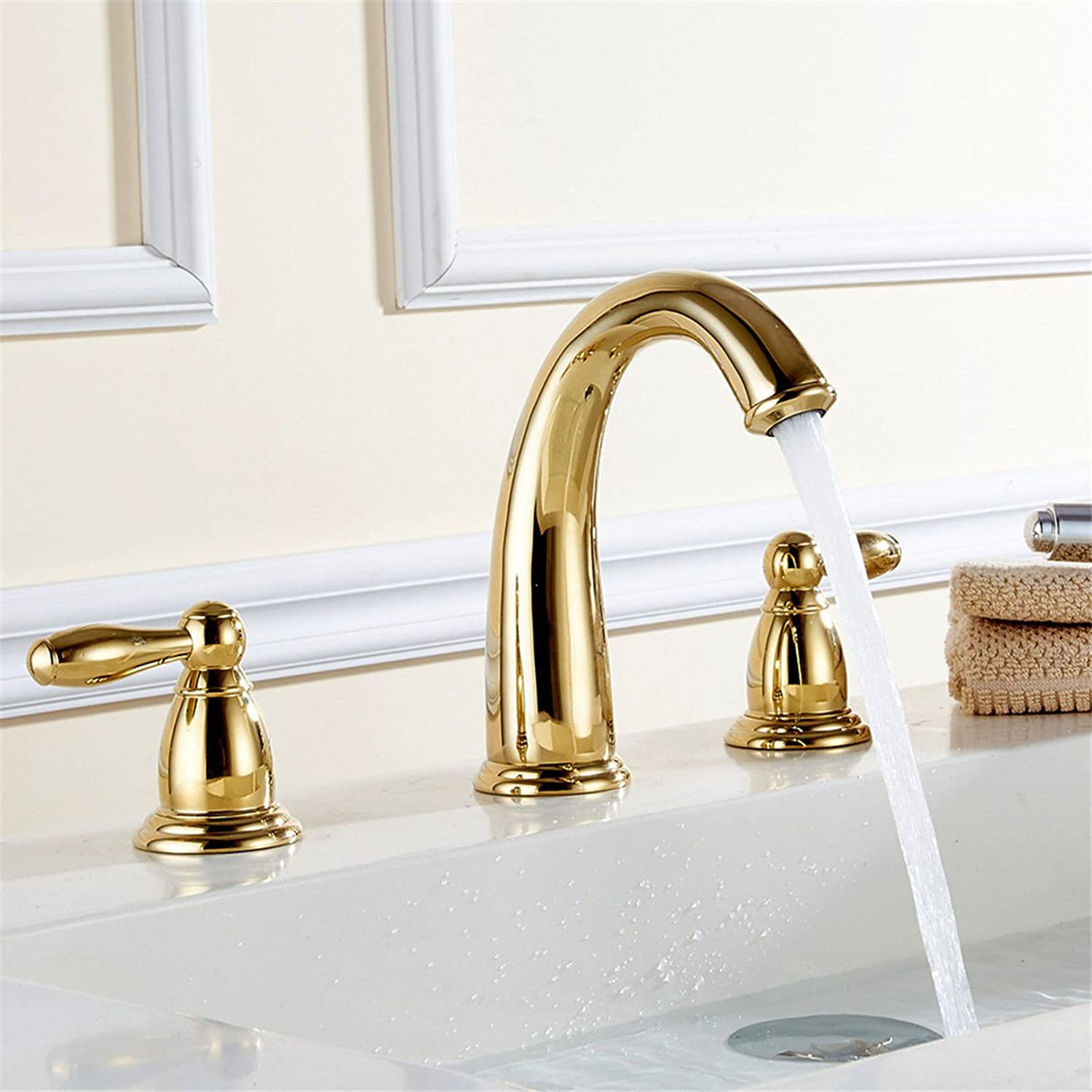 Antique Brass Bathroom Basin Faucet   Bathroom Sink Faucet   Copper Faucet   Faucet, Washbasin, Counter Basin Faucet Hot and Cold Faucet Basin faucet Bathroom Sink Tap with Bathroom Basin Mixer Tap Bathroom Mixer Tap Bathroom Basin Sink Faucet Bathroom ba