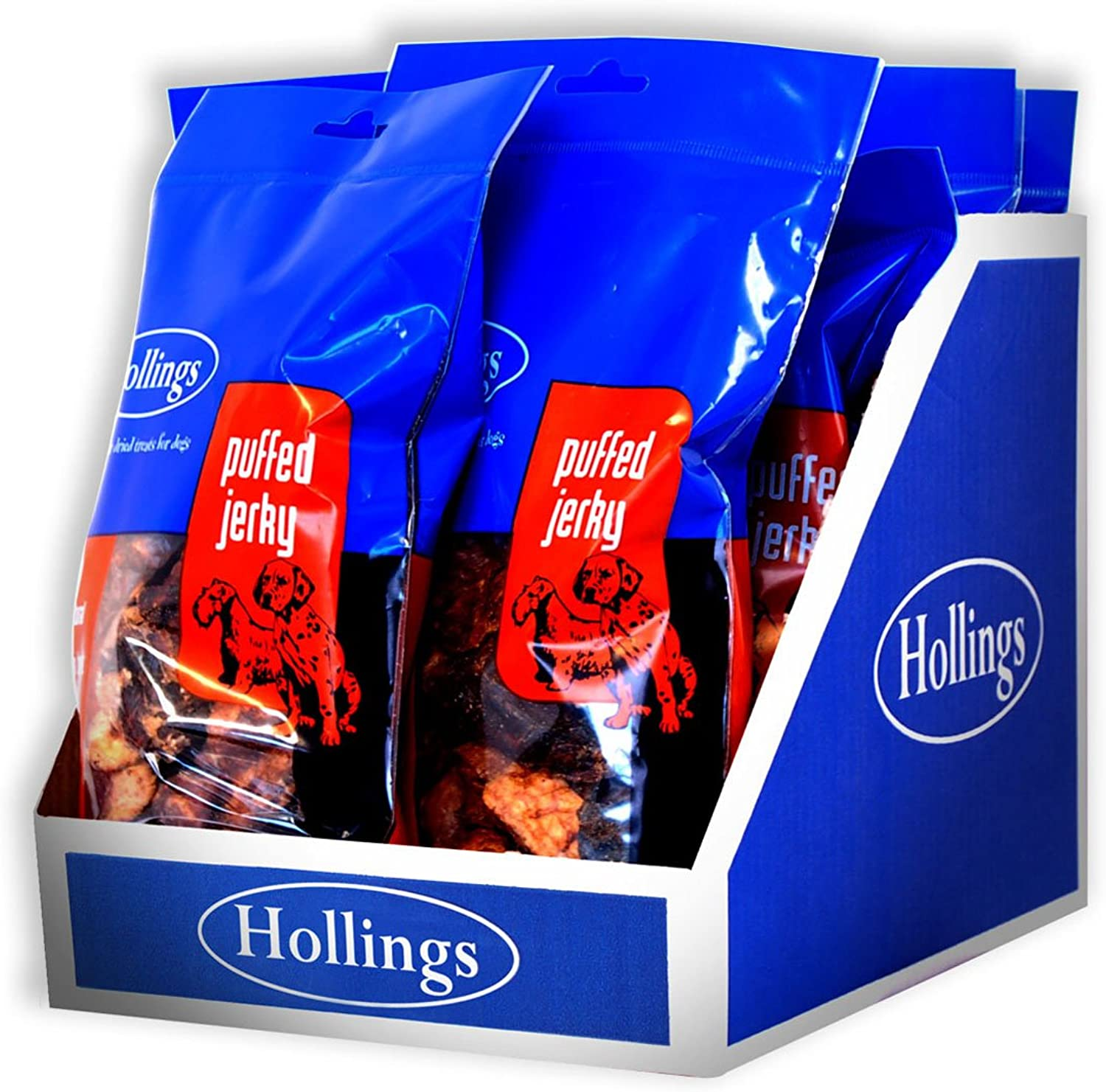 Hollings Ltd Hollings Puffed Jerky Display 100G