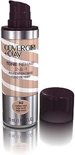 Covergirl & Olay Tone & Rehab 2 in 1 foundation 30ml - 142 Medium Beige