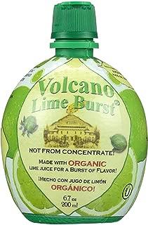 Volcano Burst, Juice Lime Squeeze Bottle Organic, 6.7 Fl Oz