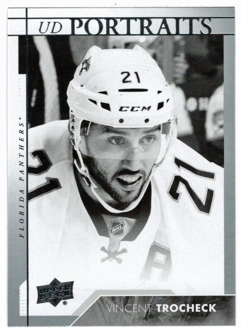 Vincent Trocheck - Florida Spring new work one after another Panthers 2017-18 Upper Sales for sale Card Hockey