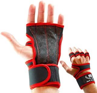 Mava Sports Cross Training Gloves with Wrist Support for Fitness, WOD, Weightlifting, Gym..