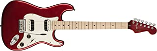 Squier by Fender エレキギター Contemporary Stratocaster® HH, Maple Fingerboard, Dark Metallic Red
