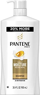 Pantene Pro-V Daily Moisture Renewal Hydrating Shampoo, 30.4 Fluid Ounce (Pack of 4)